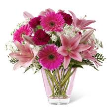 fds flowers pink blush thank you flowers at send flowers
