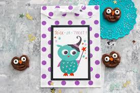 chocolate owl pretzels with halloween printables eighteen25