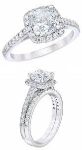 Costco Wedding Rings by Emerald Cut 1 99 Ctw Vvs1 Clarity F Color Diamond Platinum