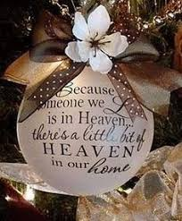 memorial ornaments are just the right touch on your tree to
