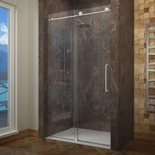 Silicone Shower Door Seal Shower Frameless Clear Sliding Shower Doors How Clean Glass Door
