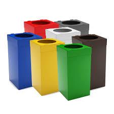 poubelle bureau atlas poubelle tri sélectif pour bureau 80 litres recyclage
