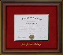 college diploma frame san antonio college diploma frame wordyisms