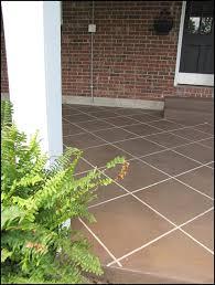 Ideas For Concrete Patio New U201ctile U201d Patio Floor Reveal Beneath My Heart