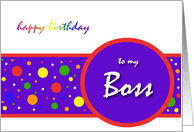 birthday cards for boss from greeting card universe