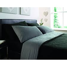 Charcoal Grey Comforter Set Bedroom Black And Gray Comforter With Sham On Grey Bed Frame With