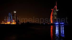 ultra hd 4k video time lapse stock footage dubai skyline