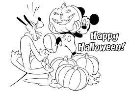 halloween coloring pages kids free printables