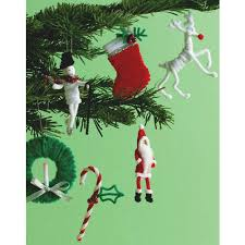 stewart crafts pipe cleaner ornament kit