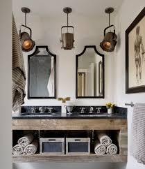 unique bathroom lighting ideas rustic bathroom lighting ideas home interiors
