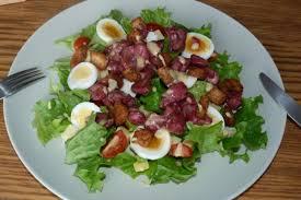 recette salade de gésiers de volaille 750g