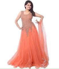 designer dress buy kia fashions baby orange color designer dress best