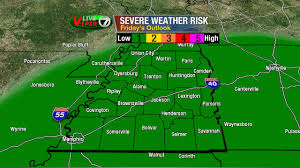 West Tennessee Map by Small Chance For Rain Again On Thursday Wbbj Tv