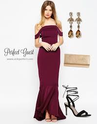 burgundy dress for wedding guest oxblood wedding guest board bridalpulse