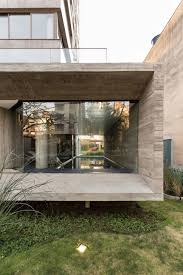 glass wall design fabulous project in a modern style with concrete and glass walls