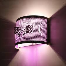 Bedroom Reading Wall Lights Metal Shade Purple Bedroom Reading Wall Lights