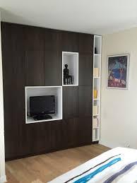 placards chambre placards sur mesure chambre parentale contemporain armoire et