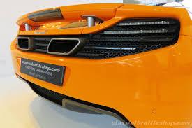 orange mclaren 12c 2013 mclaren 12c 50th anniversary classic throttle shop