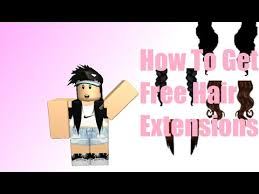 free hair extensions roblox how to get free hair extensions for nbc and bc