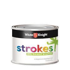 white knight 100ml gold strokes enamel paint bunnings warehouse