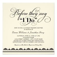 couples wedding shower invitation wording wedding vows invitation wording paperinvite