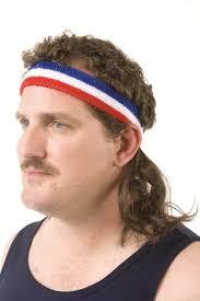 80 s headbands 80s mullet wig headbands
