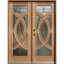 glass and wooden doors wood front doors with stained glass and wood front doors