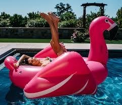 pink flamingo pool float mimosa inc