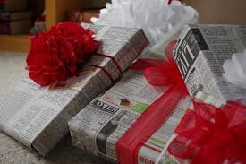 cheap gift wrap make christmas presents look better with these cheap easy gift