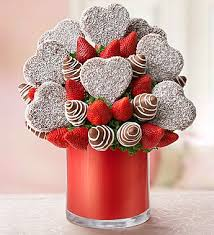 chocolate covered fruit bouquet everlasting fruit creation