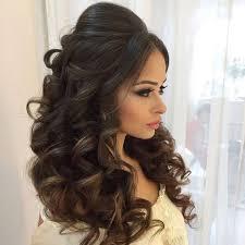 Trendy Pakistani Bridal Hairstyles 2017 New Wedding Hairstyles Look 71 Breathtaking Wedding Hairstyles With Curls Happywedd Com