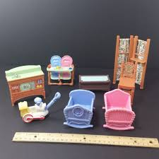 Fisher Price Doll House Furniture Fisher Price Loving Family Twin Time Dollhouse Furniture