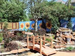 Backyard Beer Garden - sneak peek lush new beer garden offers ultimate outdoor space