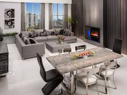 Home Modern Furniture Store Miami Contemporary Dining Living Room - Dining room sets miami
