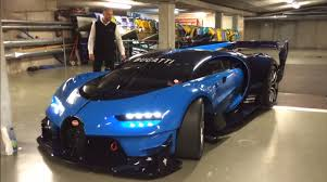 bugatti concept car bugatti vision gran turismo is a fully functional concept car w16