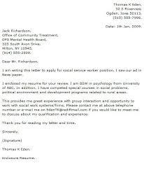 social work cover letter social work cover letter exle 5 impression babrk