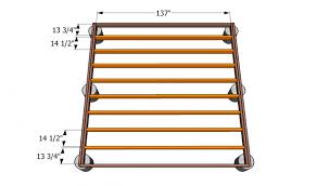 ground level deck plans myoutdoorplans free woodworking plans