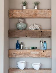 Floating Wood Shelves Diy by Coffee Bar In The Kitchen With Chalkboard Wall And Floating Wooden