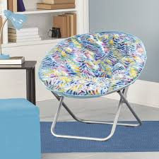 Blue Saucer Chair Saucer Chairs For Teens Plush Saucer Chair Turquoise Zebra
