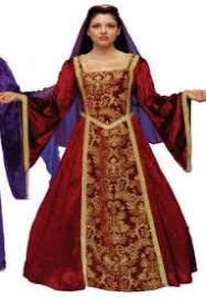 medieval queen costumes renaissance clothing king princess