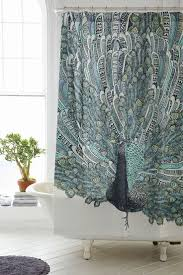 bathroom shower buy peacock shower curtains peacock