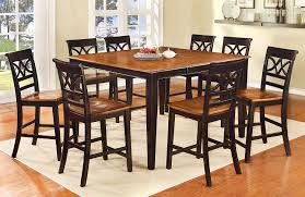 Dining Room Table Styles Amazon Com Furniture Of America Cherrine 9 Piece Country Style