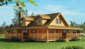 Small Log Cabin Designs Impressive Small Log Cabin Plans With Wrap Around Porch Using Oak