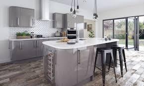 dust grey gloss bluestone kitchens