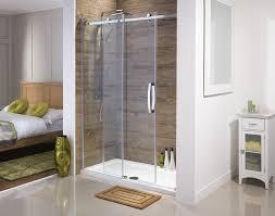 Just Shower Doors Frameless Sliding Shower Doors Half Glass Door For Bathtub