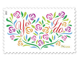 yipee brand new pretty postage for your wedding invitations