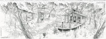 forest pencil drawing pencil drawings of forests pencil sketch