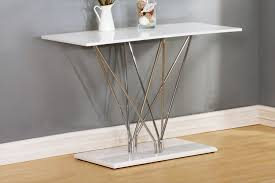 White Gloss Console Table High Gloss Occasional Furniture Tbs Discount Furniture A Large