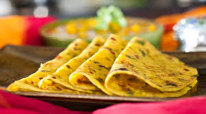 gujarati methi thepla spiced indian flat bread with fenugreek