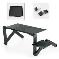 Laptop Desk White by Portable Folding Laptop Desk Adjustable Computer Table Stand Tray